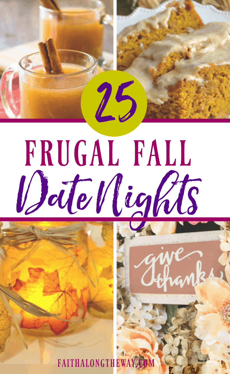Enjoy the coziness of the Fall season with these simple and budget friendly Fall date night ideas!