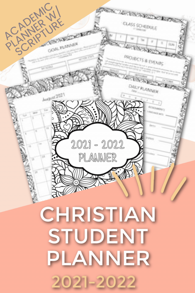 picture of the Christian Student Planner