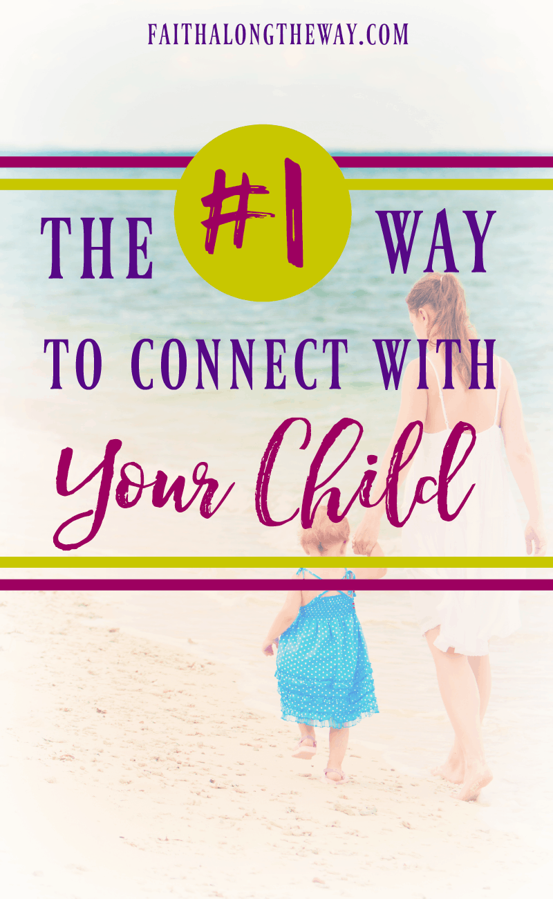 Connecting with your child isn't as hard as you think, mama. And this will show you just how simple it is to fit into your busy life!