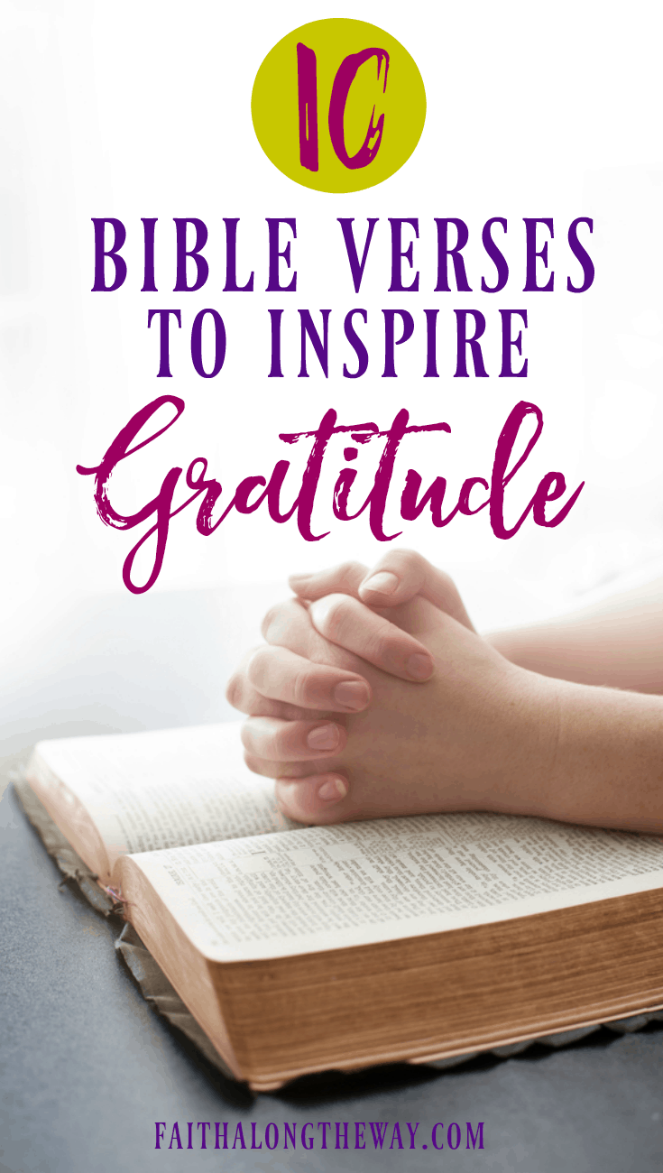 Keep your heart filled with #thanksgiving by connecting with God's Word. These #Bible verses will inspire gratitude in a fresh way and show you how simple it is to embrace a heart of #gratitude. #biblestudy #Thanksgivingbiblereadingplan #holidays #prayer #gratitudejournal