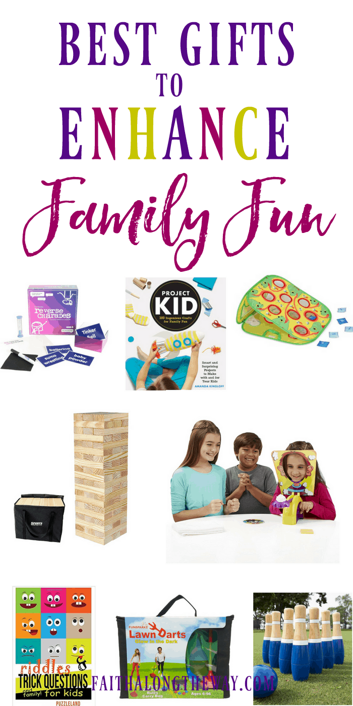 Keep the #family connected with these fun #giftideas! They will make you laugh and make special #familymemories for years to come. #familyfunideas #familyfungifts #familygifts #Christianfamily #familygiftideas