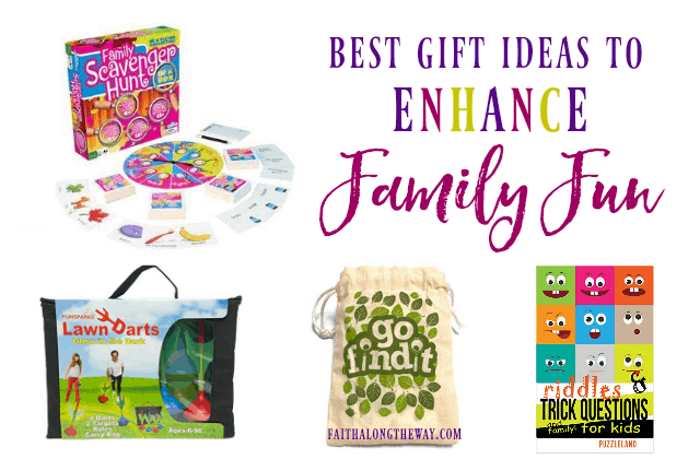 Make memories to last a lifetime with these creative family gift ideas!