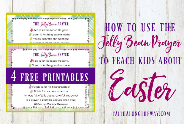 How to Use the Jelly Bean Prayer to Teach Kids About Easter