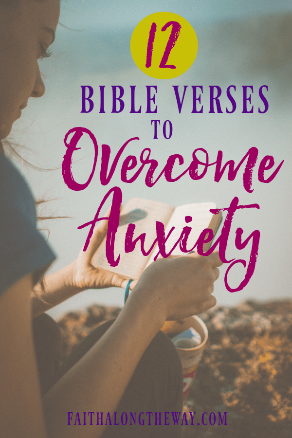 Don't let anxiety rob you of your joy! These Bible verses will help you thrive in seasons of stress and overwhelm. | anxiety | anxiety relief | Bible verses | Bible study | self-care || Faith Along the Way #anxiety #selfcare #bible