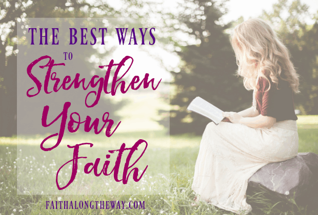 Are you longing to connect with God and strengthen your faith? These practical tips can help! faith I Bible study I Christian women I prayers I Faith Along the Way #prayer #biblestudy #faith