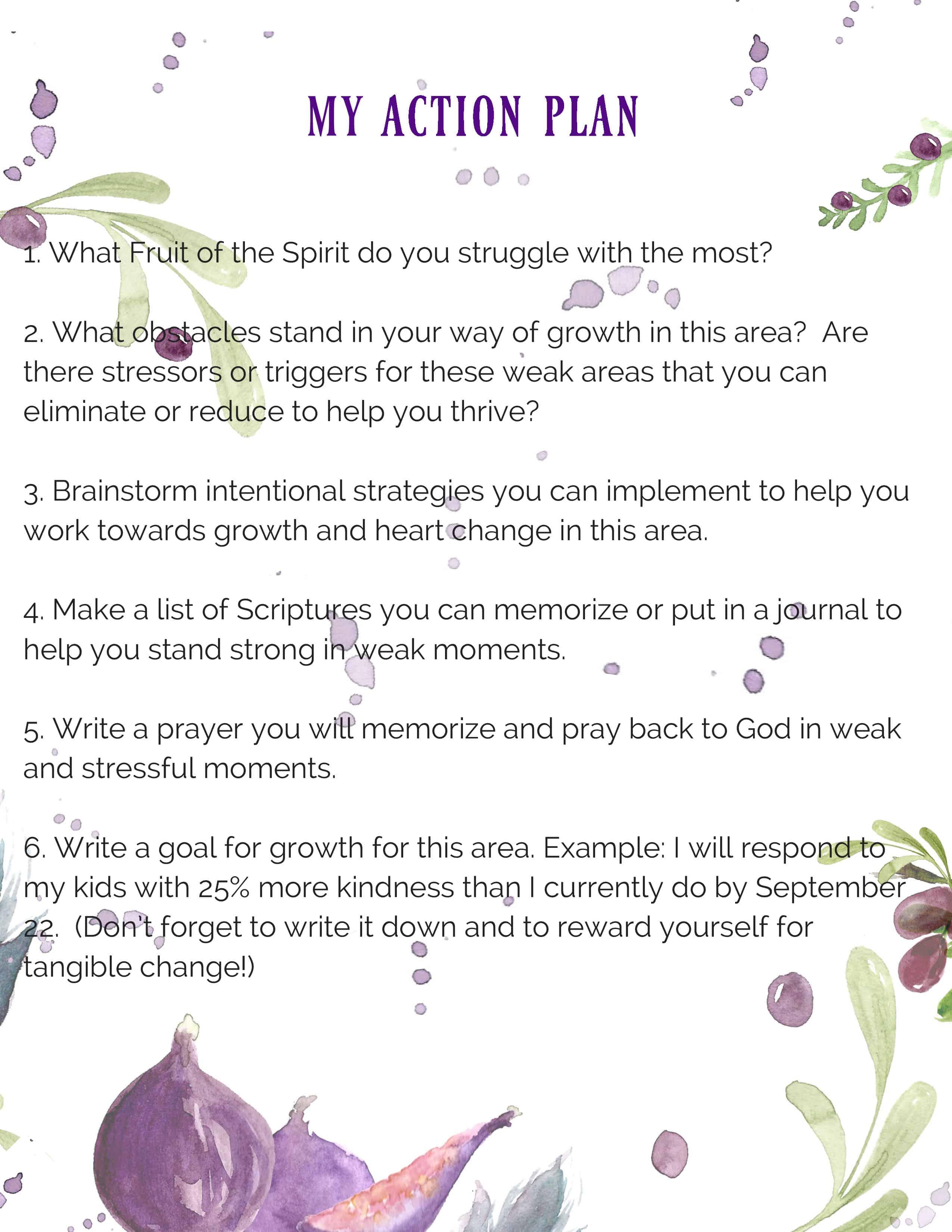 Fruit of the Spirit Bible Study Kit