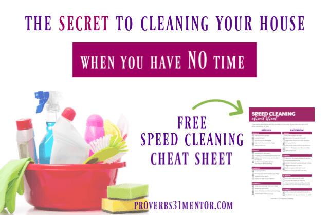 How to Speed Clean Your House Like a Pro