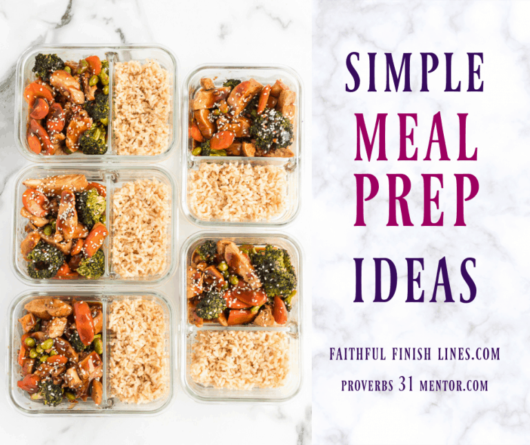 5 Meal Prep Solutions for Busy Women