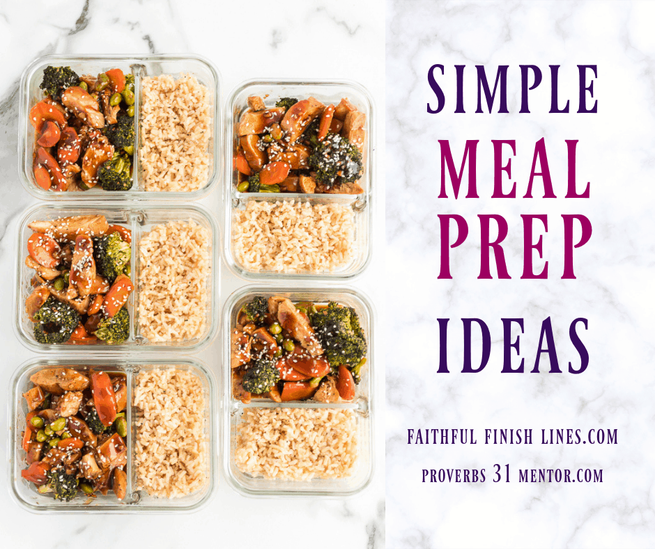 5 Meal Prep Solutions For Busy Women (No More Dinner Chaos