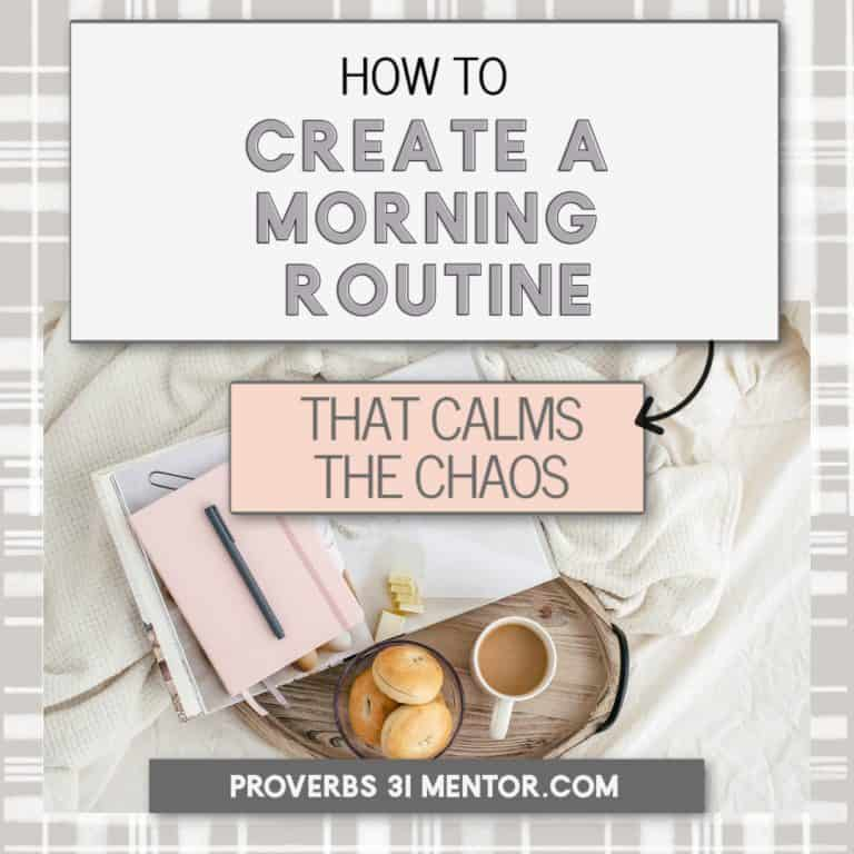 How to Create a Morning Routine that Calms the Chaos