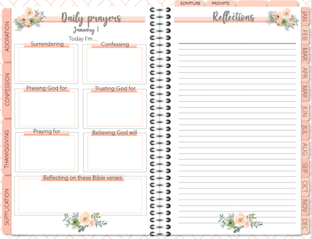 Picure of the Be Still: Daily Prayer Journal
