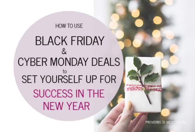 How to Shop Black Friday and Cyber Monday Deals to Set Yourself Up for Success in the New Year