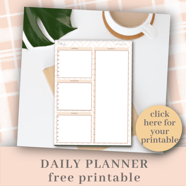 Free Daily Schedule Planner