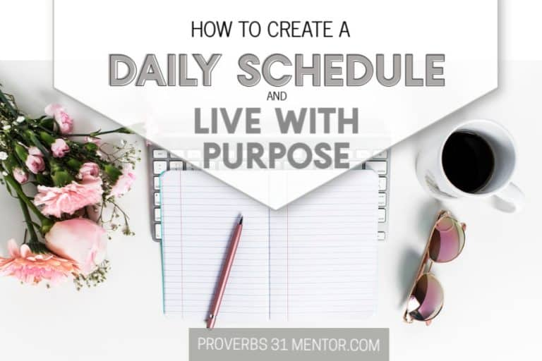 How to Create a Flexible Daily Schedule and Live with Purpose