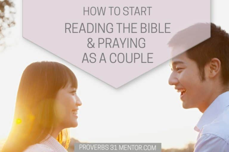 How to Start Reading Scripture and Praying Together as a Couple