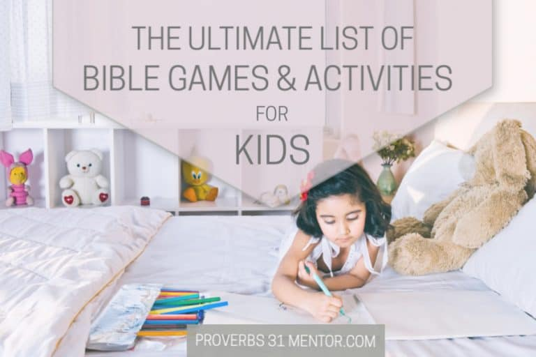 The Ultimate List of Bible Games for Kids and Fun Spiritual Growth Activities