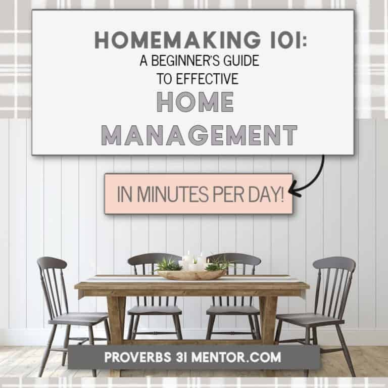 Homemaking 101: A Beginner's Guide to Effective Home Management