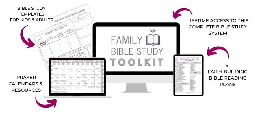 the family Bible study toolkit