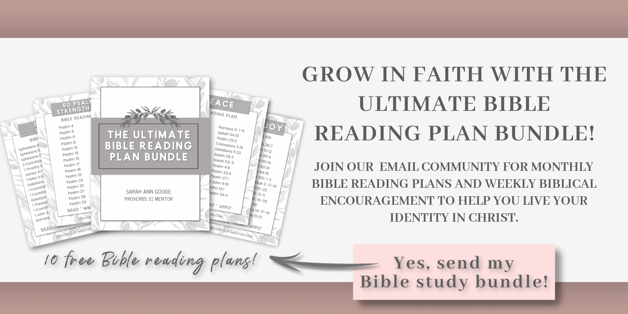 picture of the Ultimate Bible Reading Plan optin form
