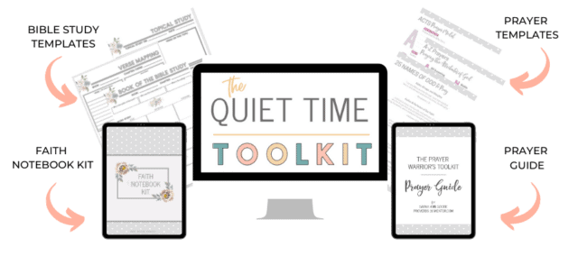 The Quiet Time Toolkit